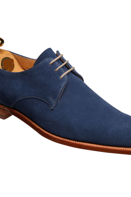Handmade Men Navy Blue Suede Formal Shoes, Men Suede Dress Shoes.